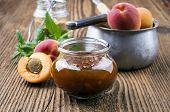 foto of apricot  - apricot jam - JPG