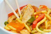 Asian Noodles Dish
