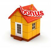 House and Bonus (clipping path included)