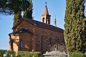foto of chapels  - Small country chapel in the municipality of Inverigo in the province of Como Lombardy Italy - JPG