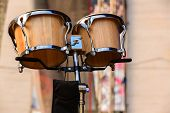 picture of drum-set  - Classic of drums set for a symphony concert - JPG