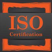 foto of certificate  - ISO certification icon - JPG