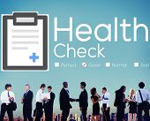 picture of medical condition  - Health Check Insurance Check Up Check List Medical Concept - JPG