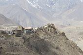 foto of mustang  - Gompa or Monastry in Jharkot Mustang district Nepal - JPG