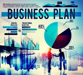 picture of marketing plan  - Business Plan Planning Strategy Marketing Concept - JPG