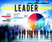 picture of role model  - Leader Leadership Coach Guide Role Model Concept - JPG