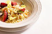 foto of porridge  - barley porridge with vegetables - JPG