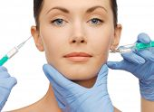 image of lip augmentation  - health and beauty concept  - JPG