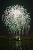 image of victory  - Beautiful firework in Bauman town on the coast of Silver - JPG