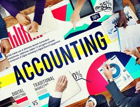 picture of budge  - Accounting Business Banking Budge Finance Market Concept - JPG