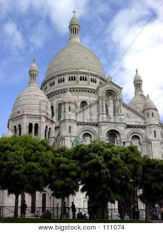 Picture or Photo of Sacre Coeur Church in Paris, France