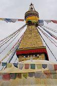 Buddhist Stupa In Nepal
