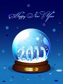 New Year 2011 card