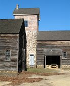 Farm Outbuilding And Corral