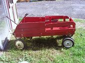Red Wagon Wooden Slats