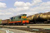 Russian Railway Locomotive