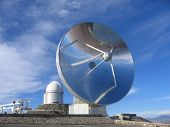 Swedish sub-millimeter telescope in the Atacama Desert