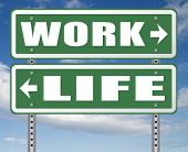 work life balance burnout stress test importance of career versus family leisure time and friends wo poster