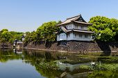 Imperial Palace Castle In Tokyo poster