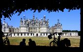 Chambord Castle in Loire Valley