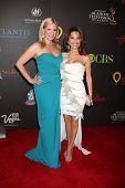 LAS VEGAS - JUN 19:  Liza Huber, Susan Lucci arriving at the 38th Daytime Emmy Awards at Hilton Hotel & Casino on June 19, 2010 in Las Vegas, NV.