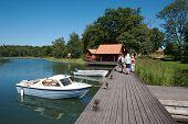 Sweden Boat Dock 10