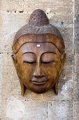 Flea Market: Vintage Wood Mask For Sale.