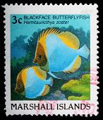 A 3-cent Stamp Printed In The Republic Of The Marshall Islands