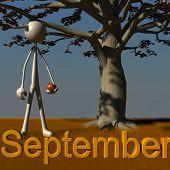 Stickman - September