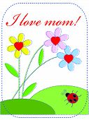 Postcard to the Momy Day!