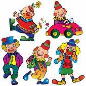 Funny clowns.