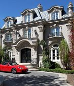 French Baroque Chateau