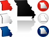 State Of Missouri Icons