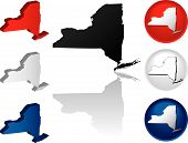 State Of New York Icons