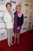 LOS ANGELES - MAR 18: Julie Andrews; Mitzi Gaynor arrives at the Professional Dancer's Society Gypsy