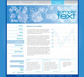 Editable web template