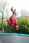 Tramboline Somersault