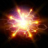 Big Bang & chemical formulas