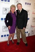 LOS ANGELES - MAR 18:  Mitzi Gaynor; Bob Mackie arrives at the Professional Dancer's Society Gypsy A