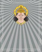 image of hanuman  - Hanuman the hindu ape  - JPG