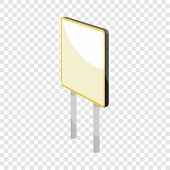Advertising Sign Icon. Cartoon Illustration Of Advertising Sign Vector Icon For Web poster