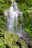 Beautiful waterfall near the gorge in Takachihol, Japan - Kyushu island