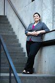 Businesswoman - Taking A Break