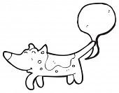 pic of farting  - farting dog cartoon - JPG