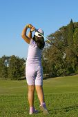 Young Golf Player