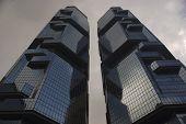 The Lippo Center - Admiralty - Hong Kong Island - Hong Kong - China
