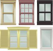 Window Vector Illustrations