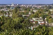 The small town of Santa Clara on Cuba