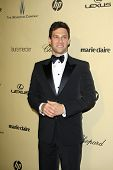 LOS ANGELES - JAN 13:  Justin Bartha arrives at the 2013 Weinstein Post Golden Globe Party at Beverl