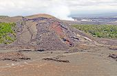 Spatter Cone Of A Hawaiian Volcano